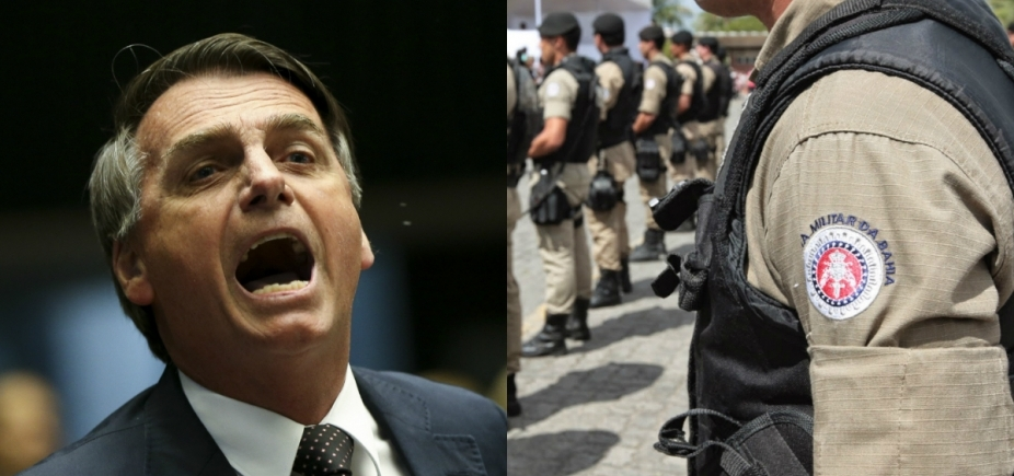 [Policiais baianos lançam manifesto e rejeitam candidatura de Bolsonaro à presidência]