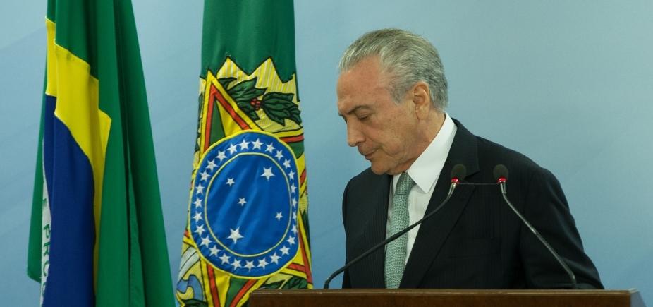 [Temer admite saída do PSDB do governo e cogita antecipar reforma ministerial, diz jornal]