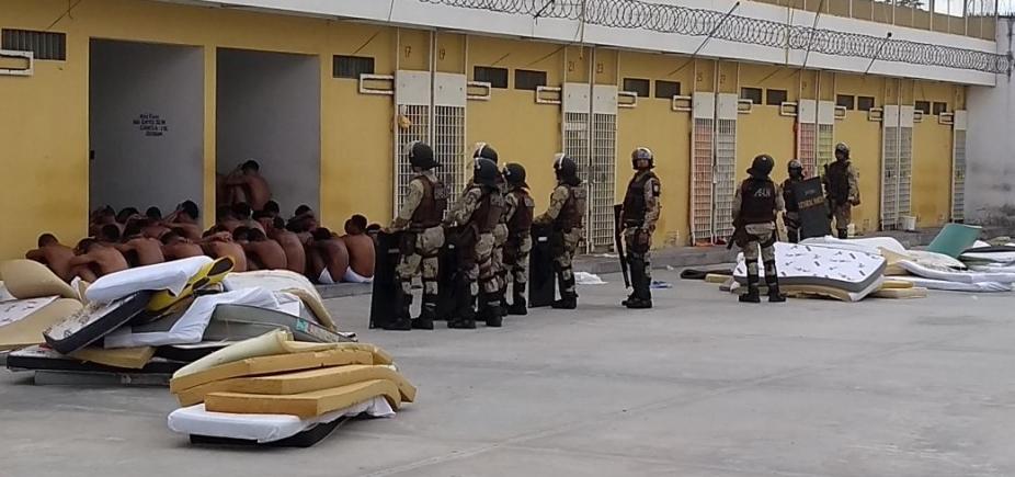 [Polícia apreende celulares e drogas durante operação em presídio de Feira de Santana]