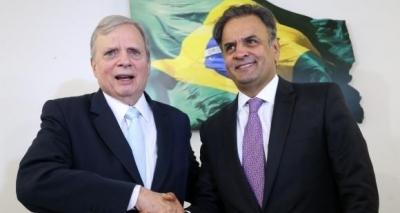 Após ser destituído do comando do PSDB, Tasso critica Aécio: ʹTemos diferenças profundasʹ