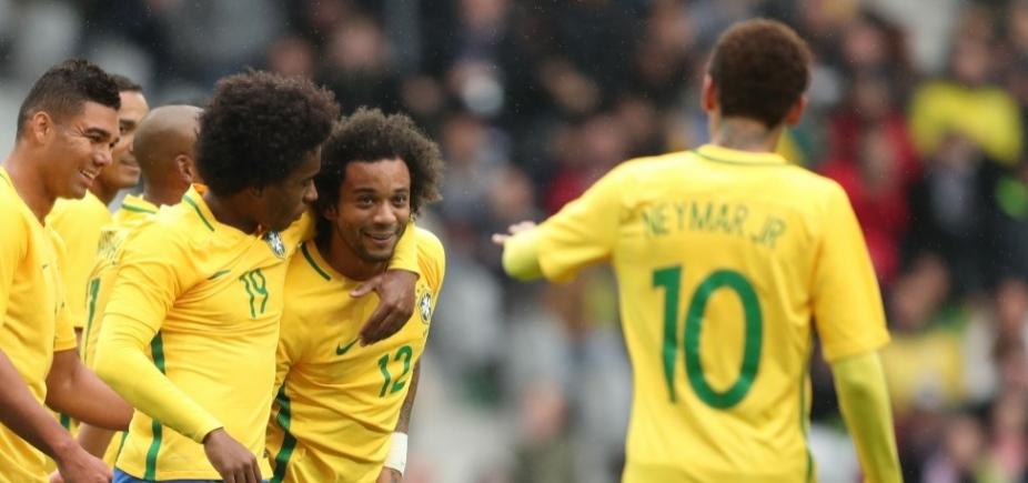 [Brasil vence amistoso contra Japão por 3 a 1]