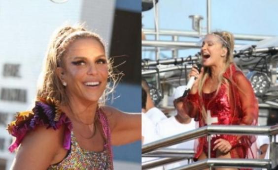 Ivete e Cláudia disputam prêmio internacional como melhores cantoras brasileiras do ano