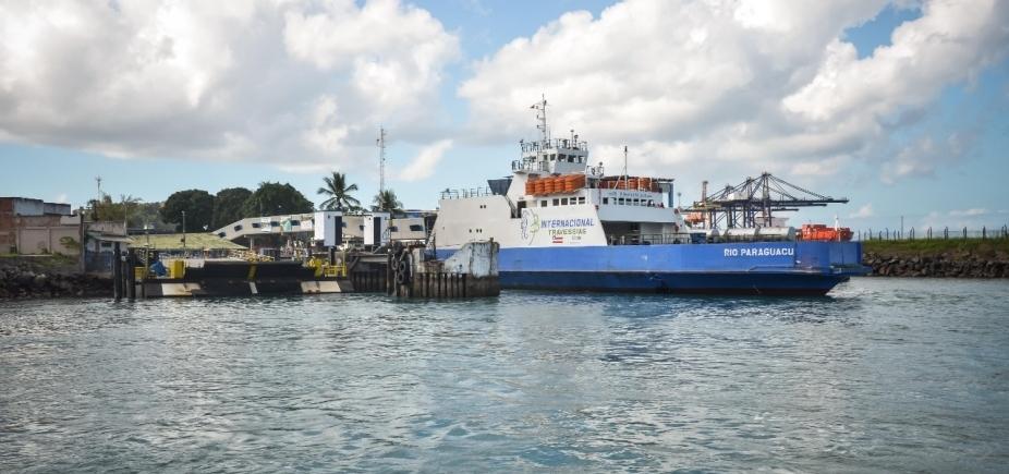 [Sistema Ferry-Boat funciona com quatro embarcações e saídas a cada 1h neste sábado]