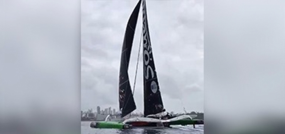 [Após 7 dias no mar, vencedores da Transat Jacques Vabre chegam a Salvador; vídeo ]