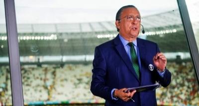 Galvão Bueno sai em defesa de piloto e critica redes sociais: