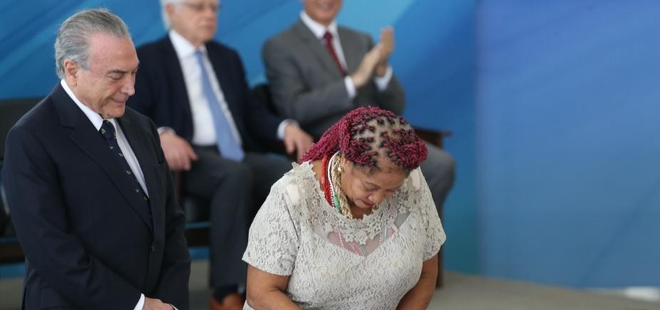 [Luislinda Valois deve deixar governo em reforma ministerial, afirma jornal ]