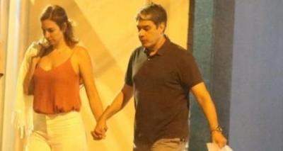 Novo amor? William Bonner é visto com suposta namorada no Rio de Janeiro