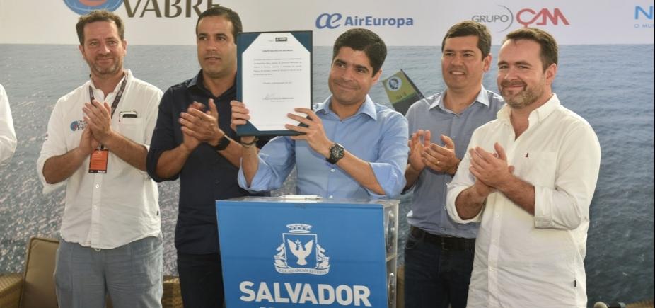 [Prefeitura abre Vila da Regata e instala Comitê Náutico de Salvador]