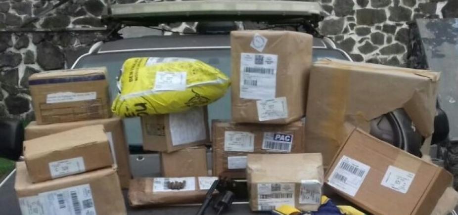[Polícia recupera veículo do Sedex e encomendas roubadas na Lapinha]