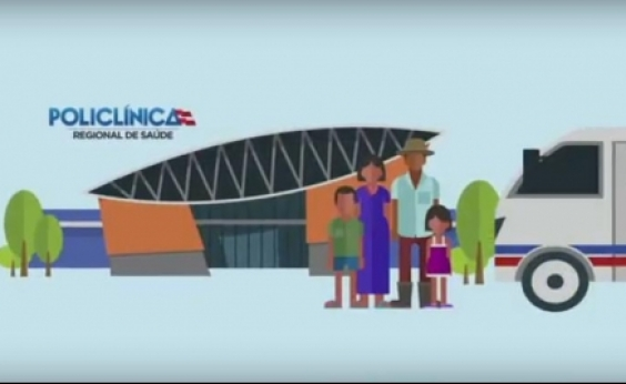 Vídeo educativo sobre uso das policlínicas regionais é lançado pelo governo nesta terça; veja