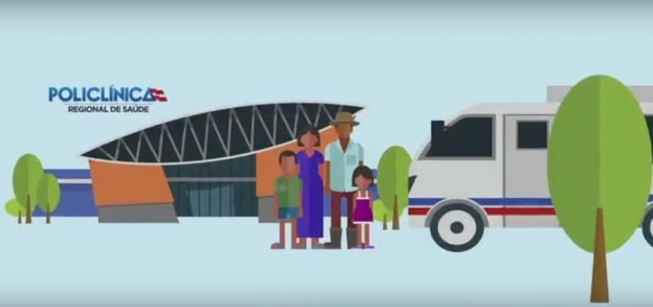[Vídeo educativo sobre uso das policlínicas regionais é lançado pelo governo nesta terça; veja]