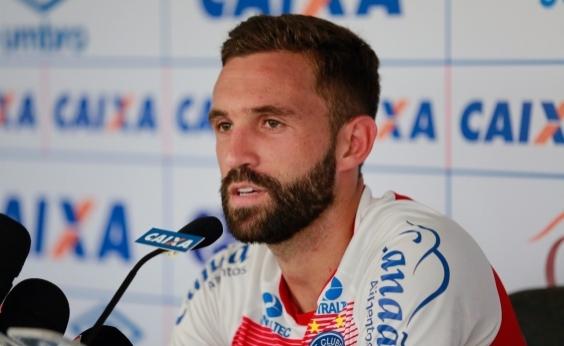 Allione reforça desejo de continuar no Bahia em 2018