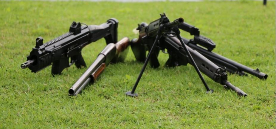 [Polícia baiana já apreendeu mais de 3,8 mil armas em 2017]