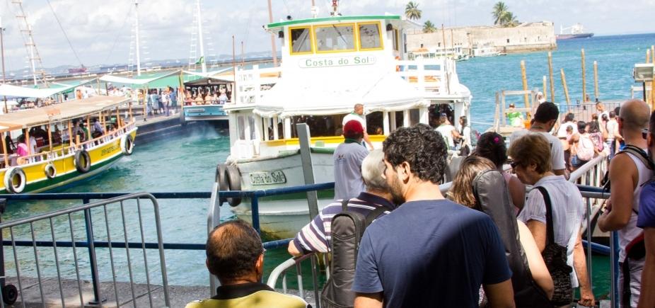 [Travessia Salvador-Mar Grande encerra mais cedo por maré baixa; veja horário ]