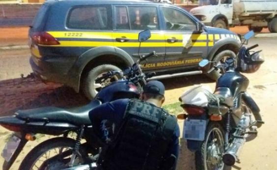 PRF recupera motocicletas adulteradas em Cristópolis