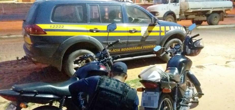 [PRF recupera motocicletas adulteradas em Cristópolis]