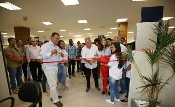 Escritório regional do Primeiro Emprego é inaugurado no SAC de Teixeira de Freitas