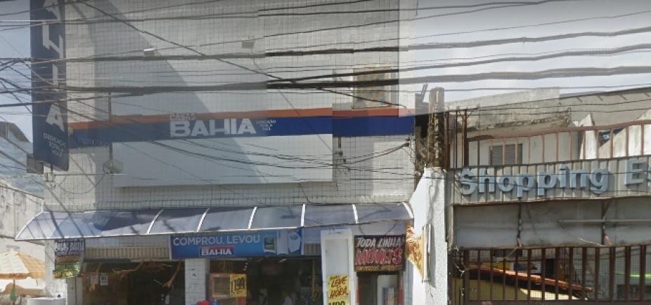 [Polícia prende suspeito de assaltar Casas Bahia na Liberdade ]