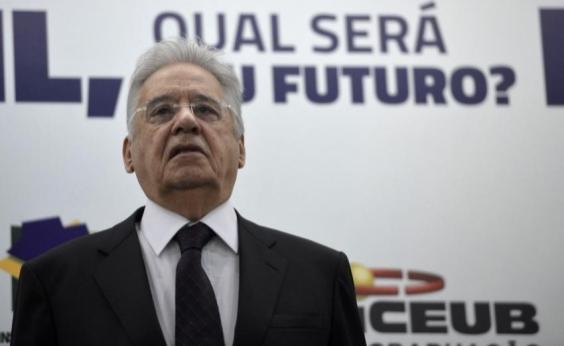 FHC aponta Bolsonaro como maior ameaça da direita: Tenho medo