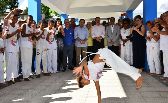 Governo da Bahia lança projeto Escolas Culturais em Teixeira de Freitas