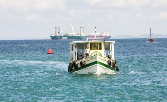 Travessia Salvador-Mar Grande tem parada de mais de uma hora neste sábado