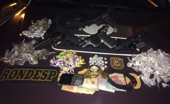 Polícia apreende mais duas pistolas de fabricação turca em São Cristóvão