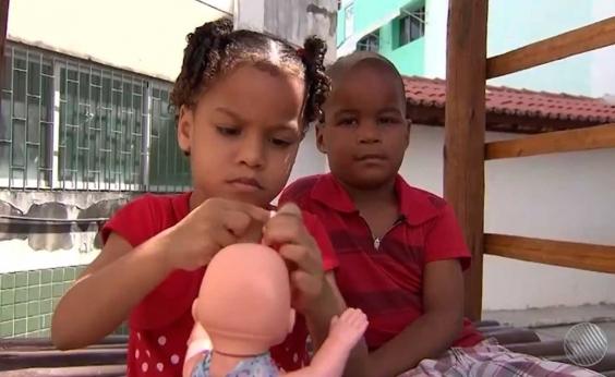 Crianças abandonadas em Salvador podem ser levadas para adoção; Justiça procura familiares
