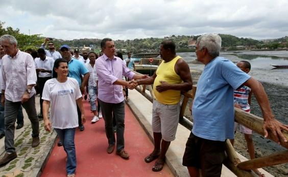 Rui entrega obras da pista de borda em São João do Cabrito: Mais dignidade ao povo