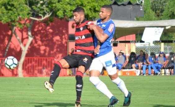 Vitória empata com o Cruzeiro no Barradão e segue na luta contra o rebaixamento