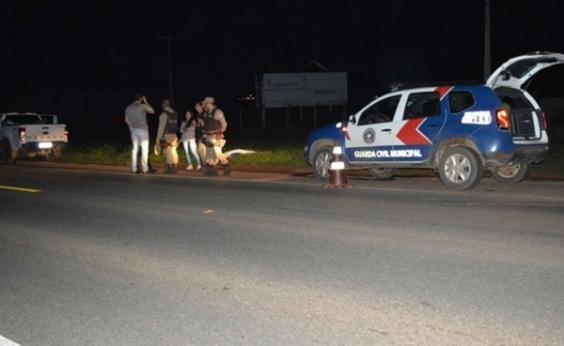 Homem morre ao ser atropelado na BR-020, em Luís Eduardo Magalhães