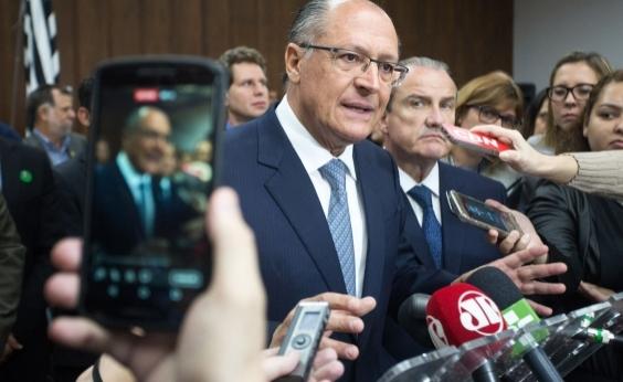 Alckimin diz acreditar em vitória nas eleições em cenário contra Lula