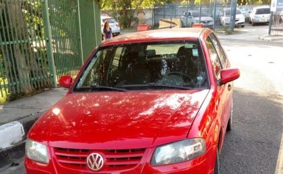 Carro roubado em Feira de Santana é recuperado em Salvador