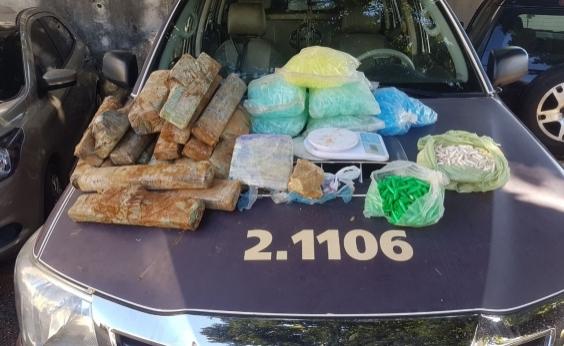 Operação em Brotas prende suspeito de tráfico e apreende adolescente e 22 kg de drogas