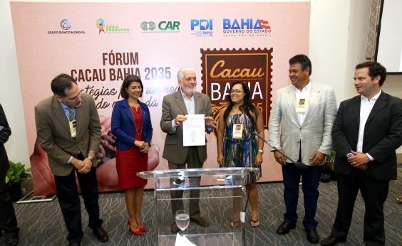 Governo assina protocolo para criação de Sistema de Arranjo Produtivo Local do Cacau