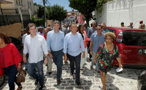 Com investimento de R$ 120 mi, Rui entrega requalificação de ruas no Centro Antigo de Salvador