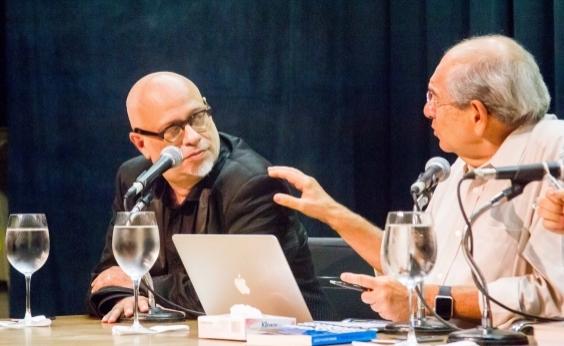 Inscreva-se para o Entre Páginas com Mário Kertész e Luiz Felipe Pondé