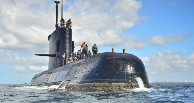 Marinha da Argentina confirma explosão em região de desaparecimento do submarino