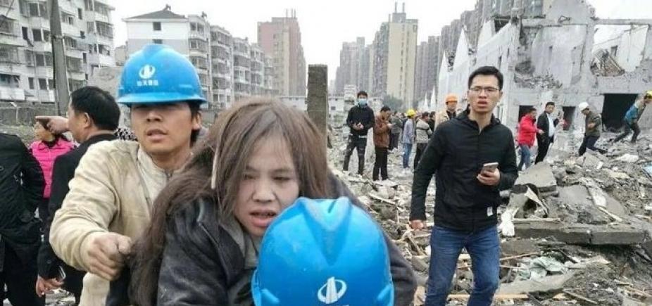 [Explosão em fábrica na China deixa 2 mortos e dezenas de feridos]