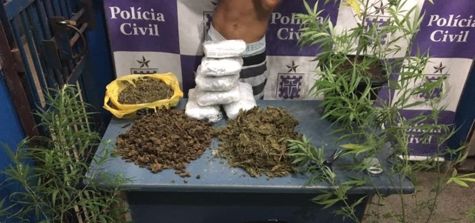 [Mais de oito quilos de maconha são apreendidos em Ilhéus]