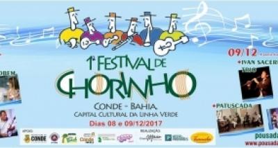 Festival de Chorinho é realizado pela primeira vez no Conde neste fim de semana