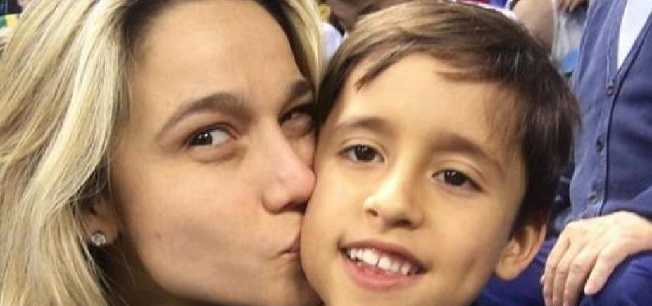 [Fernanda Gentil revela reação do filho ao saber de seu namoro: ʹÉ só isso?ʹ]