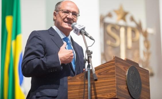 Em discurso, Alckmin ataca Lula e PT: ʹModelo lulopetista de iludir para reinarʹ