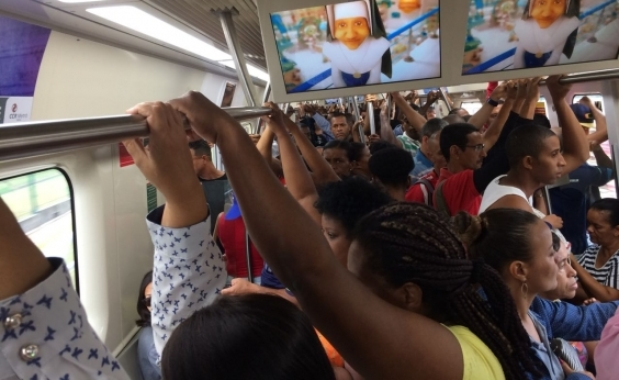 Tráfego na Linha 2 do Metrô de Salvador é normalizado depois de ʹincidente técnicoʹ