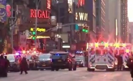 Explosão deixa ao menos 4 feridos em estação de metrô em Nova York