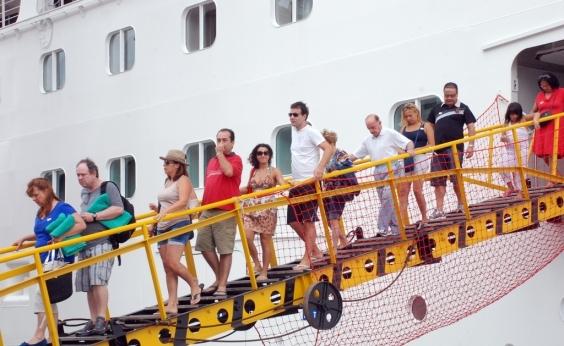 Temporada de cruzeiros inicia na Bahia; serão 14 navios em dezembro