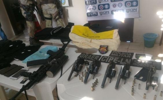 Polícia localiza suspeitos de assalto a banco em Olindina