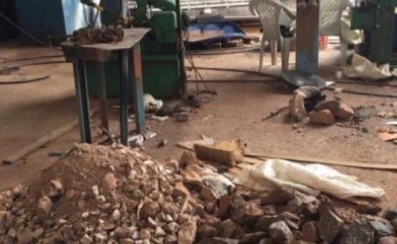 Garimpo clandestino é fechado e cinco pessoas são presas em Goiás