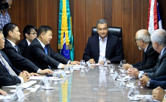 Salvador-Itaparica: Rui se reúne com chineses e projeto pode sair em 2018