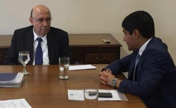 Neto se encontra com Meirelles para discutir financiamento para projetos em Salvador