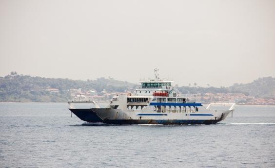 Ferry boat: movimento é moderado para veículos no Terminal de São Joaquim